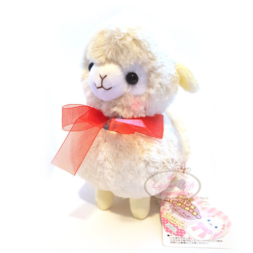 Alpacasso Girly Kids Alpaca M Beige Ribbon 16cm
