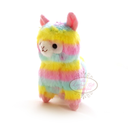 Alpacasso Rainbow Alpaca Key Chain 12cm