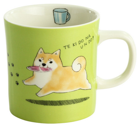 Shiba Inu Mug - Relaxing After Work