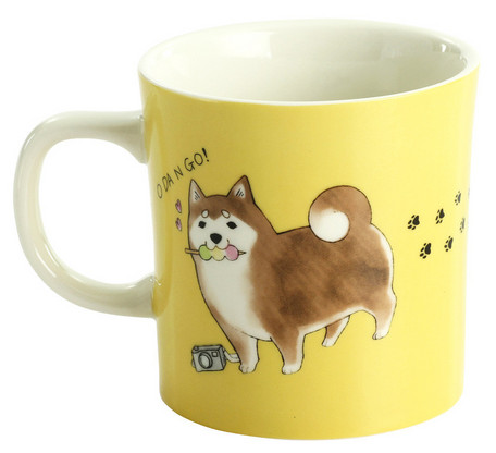 Shiba Inu Mug - Nature and Food