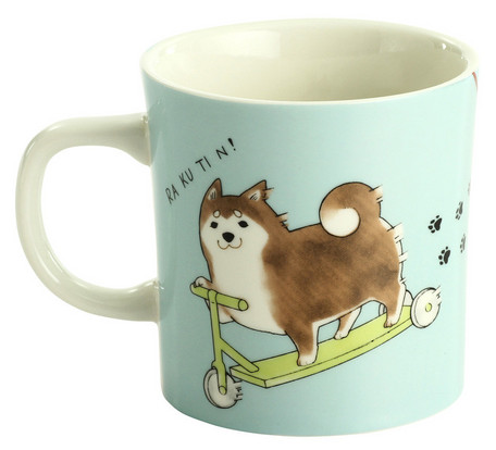 Shiba Inu Mug - No Walks, Only Fun