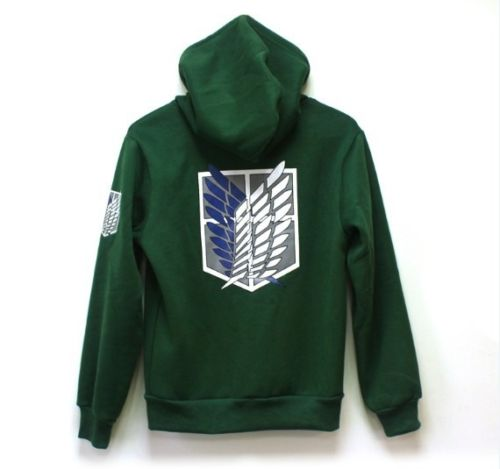 AOT Hoodie Survey Corps Attack on Titan