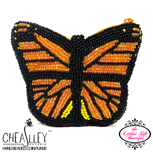 Butterfly Orange and Black