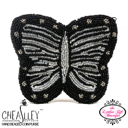 Butterfly Black with Silver