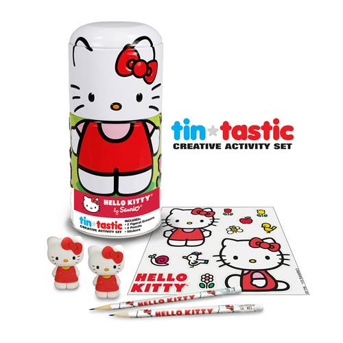 Hello Kitty Tin-Tastic Pencil Set with Tin