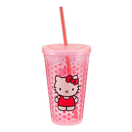 Hello Kitty Acrylic Travel Cup