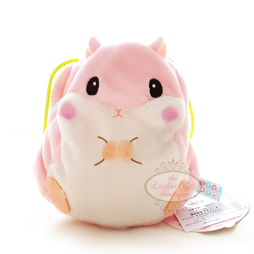 Koro Hamster Pouch Pink