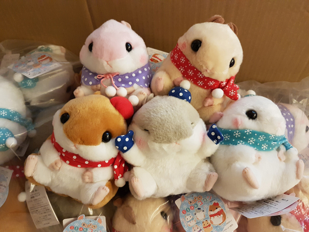 Koro Koron Hamster Winter M - Click Image to Close