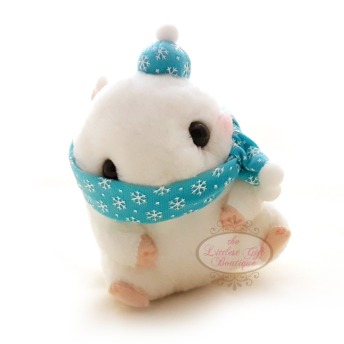 Koro Koron Hamster Winter M White
