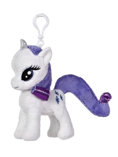 My Little Pony AU Rarity Clip On 4.5""