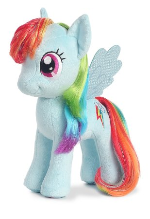 My Little Pony AU Rainbow Dash 13""