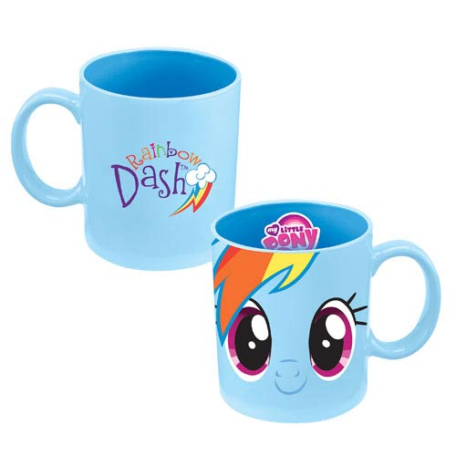 My Little Pony Mug Ceramic Rainbow Dash 12 oz.