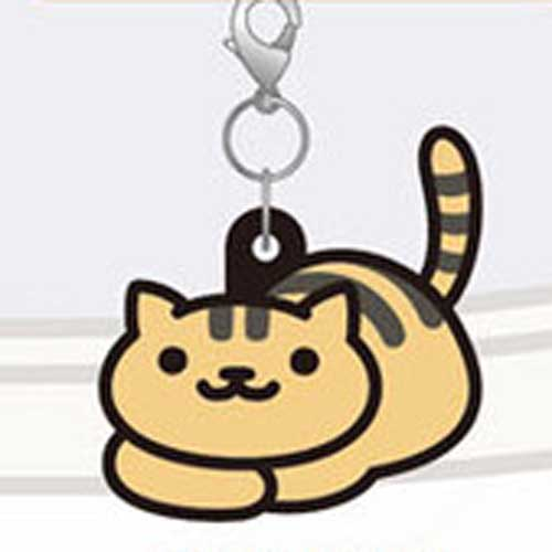 Neko Atsume Rubber Straps - Bolt Org Black Stripe