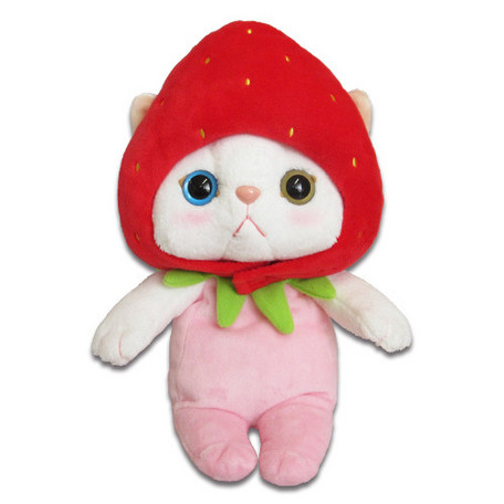 Choo Choo Cat Plush Strawberry M