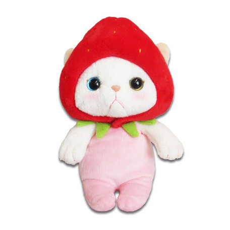 Choo Choo Cat Plush Strawberry S