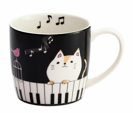 Nyan Cat Mug Piano