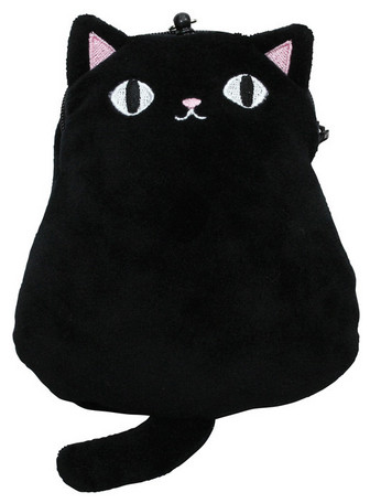 Neko Sankyodai Commuter Pass Case Black