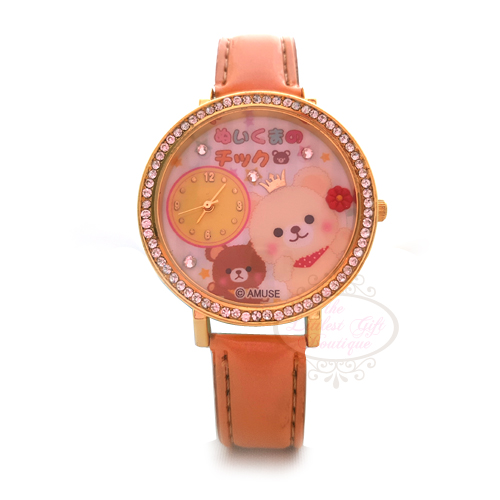AMUSE Character Watch - Sewing Teddy Bear