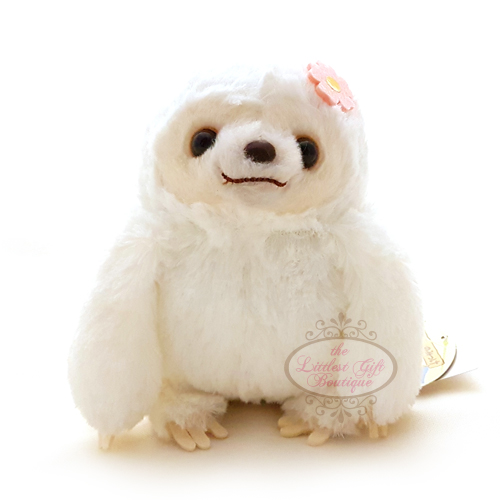 Sloth Flower M White 13cm