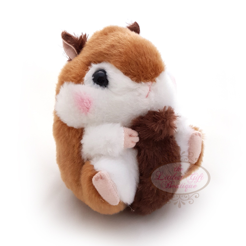 Koro Koron Hamster Forest Walk M Dark Brown 10cm