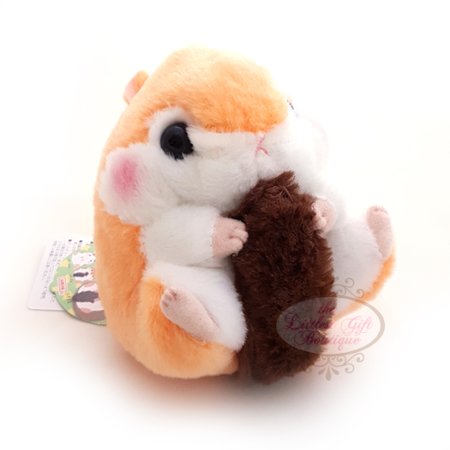 Koro Koron Hamster Forest Walk M Orange 10cm