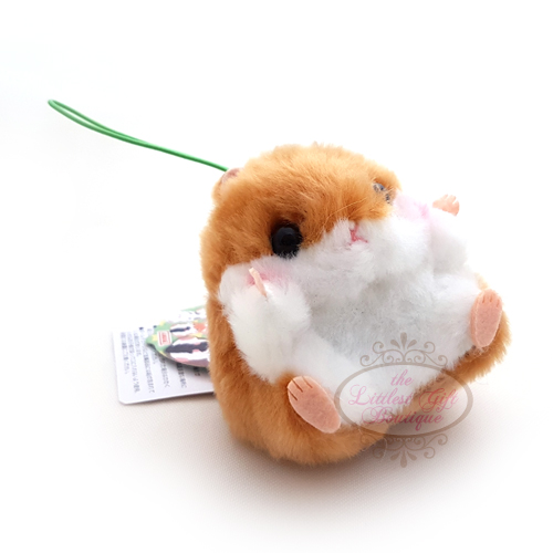 Koro Koron Hamster Forest Walk S Brown 10cm