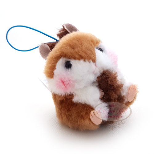 Koro Koron Hamster Forest Walk S Dark Brown 10cm