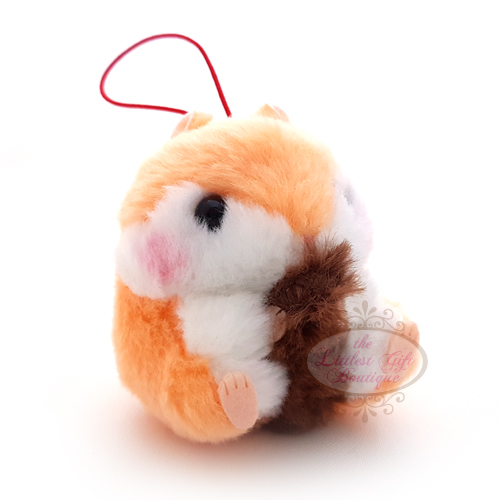 Koro Koron Hamster Forest Walk S Orange 10cm