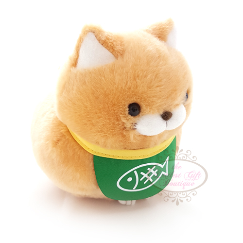Hige Manju Cat Sushi M Orange 13cm