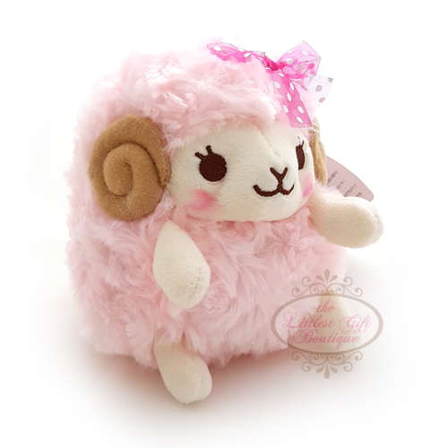 Wooly the Sheep Heartful Girly M Pink 13cm