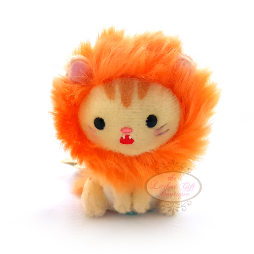 Cats in Costume Keychain 9cm Lion