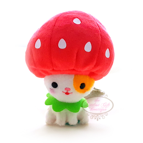 Cats in Costume Keychain 9cm Strawberry