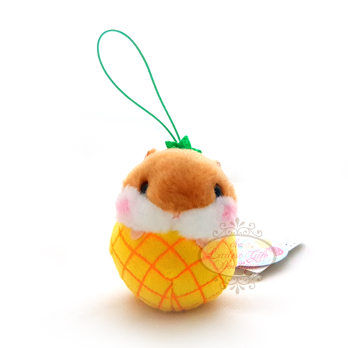 Koro Koron Hamster Fruits Elastic Pineapple