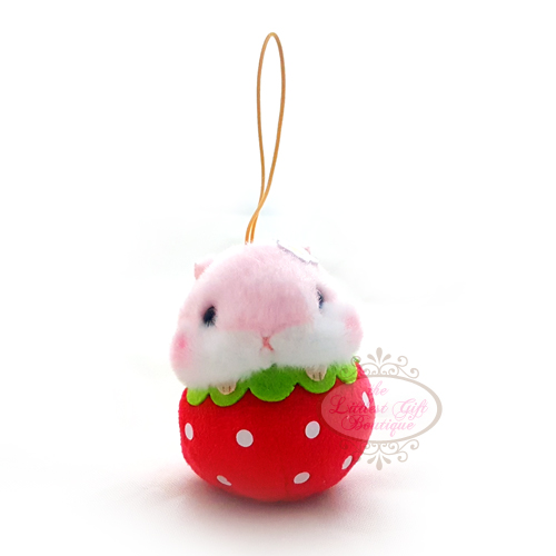 Koro Koron Hamster Fruits Elastic Strawberry