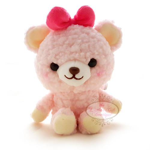 Teddy Sewing Bear M Pink