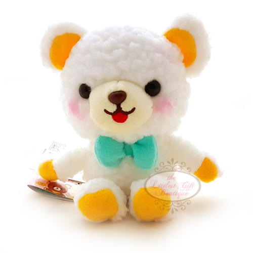 Teddy Sewing Bear M White