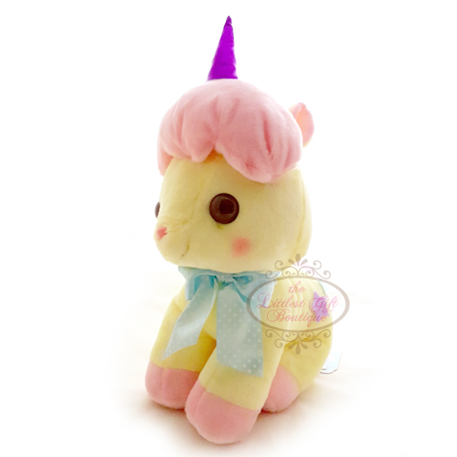 Unicorn Pastel L Yellow