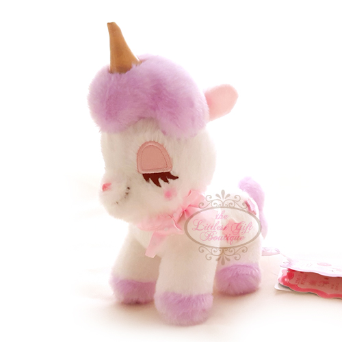 Unicorn Pastel M White and Purple