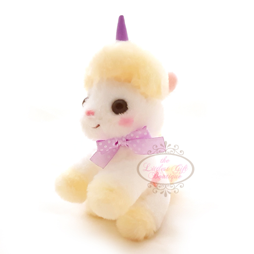 Unicorn Pastel Keychain Yellow