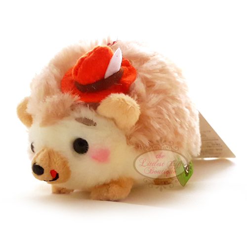Hedgehog Party Keychain Red Hat