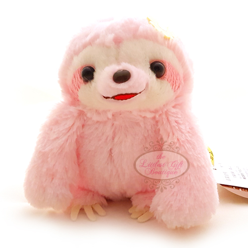 Sloth Holding Hands M Pink