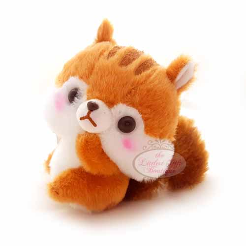 Squirrel Keychain Brown