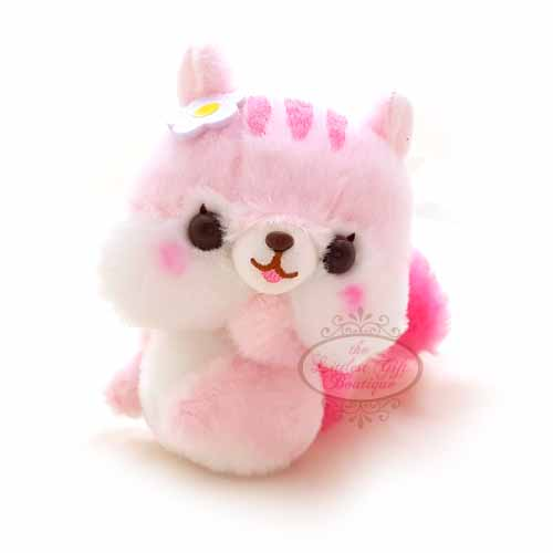 Squirrel Keychain Pink