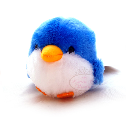 KotoriTai Bird Keychain Vacation Blue Penguin