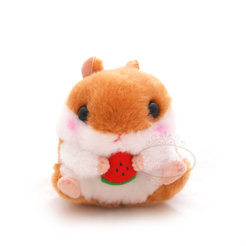 Koro Koron Hamster Friends Keychain Brown