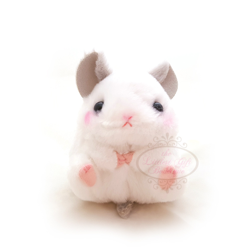 Koro Koron Hamster Friends Keychain Chinchilla