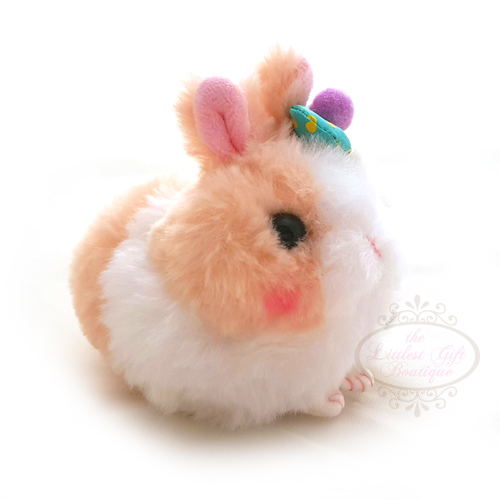 Usa Dama-Chan Rabbit Keychain Brown