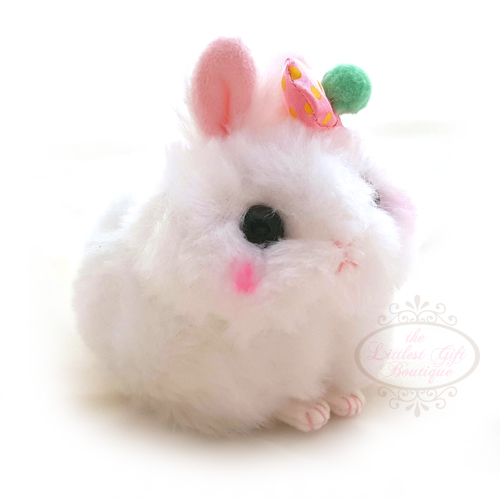 Usa Dama-Chan Rabbit Keychain White