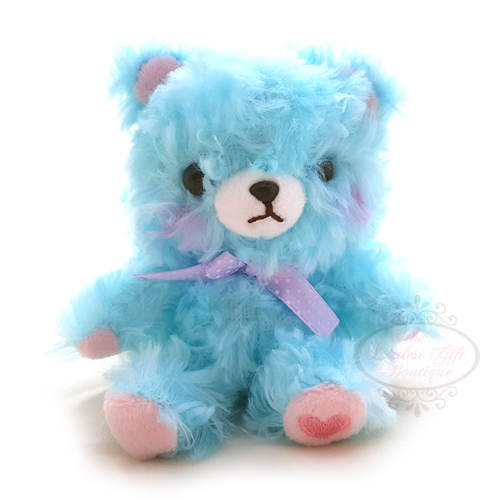Fortune Bear Keychain Blue