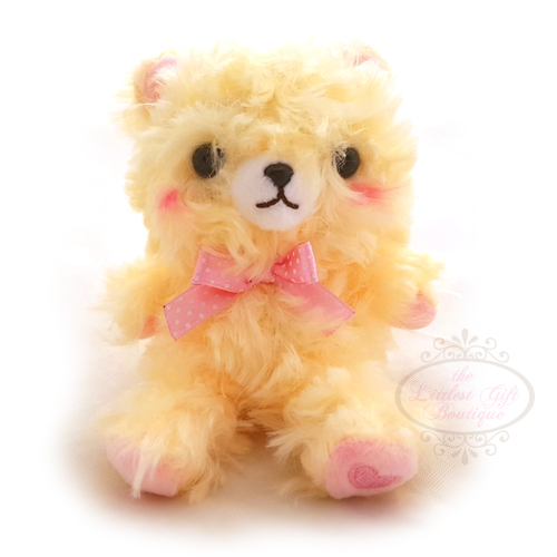 Fortune Bear Keychain Yellow
